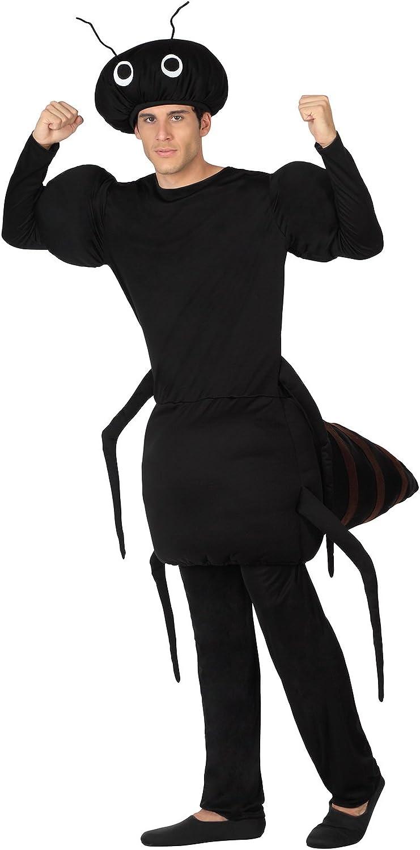 Atosa-26702 guerrero Disfraz de Hormiga, color negro, Medium/Large ...