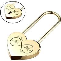 polar-effekt Corazón Candado del Amor Oro con 2seitige