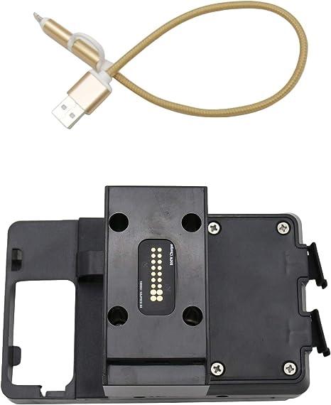 Lasamot Support De Telephone Portable Support De Navigation Gps Accessoires Moto Compatible Avec Bmw R1200rt R1250rt 2014 2019