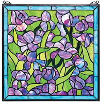 Amazon Stained Glass Panel