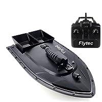 Momola RC Boot Ferngesteuertes Boot,2,4GHz Wasserdicht High Speed Electric Racing Boot mit Starke Kraft Fernbedienung Spielzeug für Anfänger und Kinder (Schwarz)