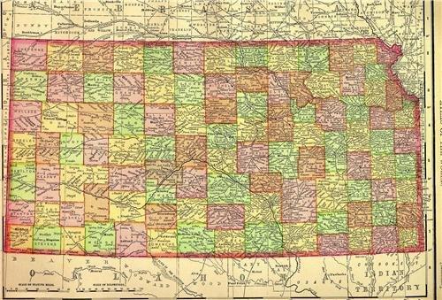 Kansas Map - 9