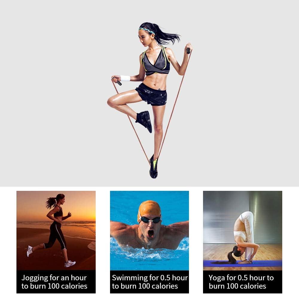 Comba de saltar para adultos Darlingcare ajustable para ejercicio con asas de espuma y sin enredos cuerda de saltar con peso para crossfit ejercicio