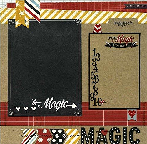 (Top Magic Moments - Premade Scrapbook Page)