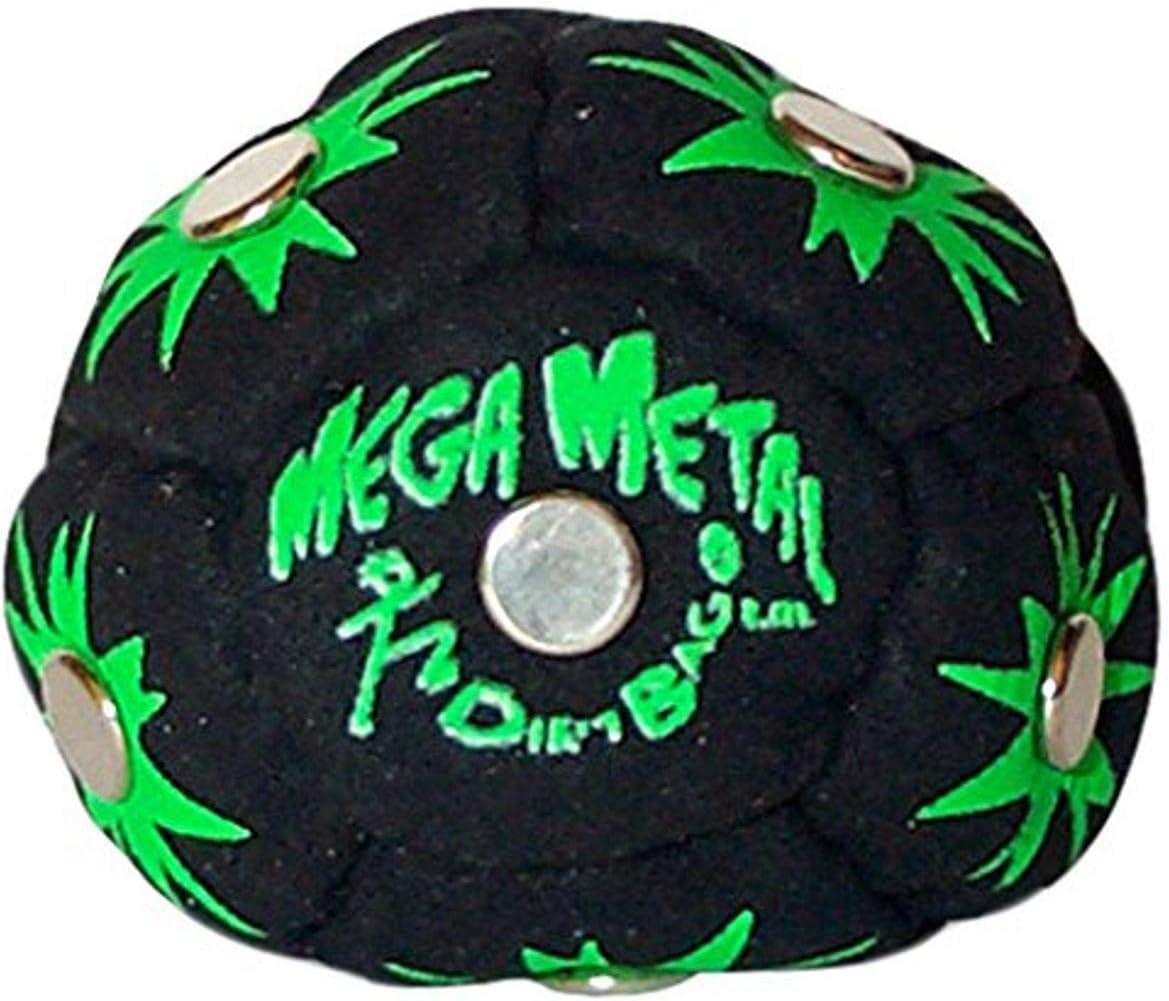 Black World Footbag Dirtbag Mega Metal Hacky Sack
