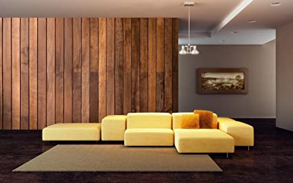999Store Wooden Brick Tiles Hd Wallpaper Wall Murals For Living Room ...