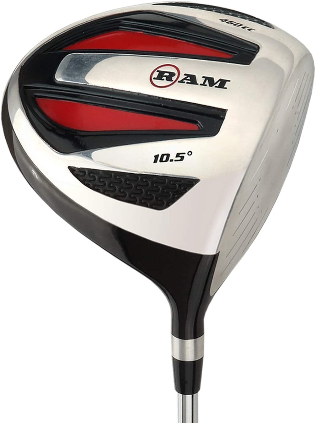 Ram Golf SGS 460cc Driver – Mens Right Hand – Headcover Included – Steel Shaft