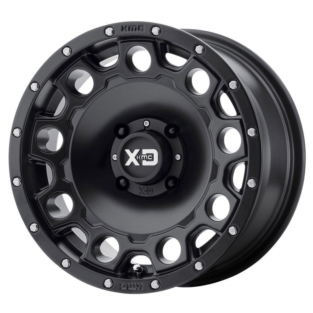 XD ATV XS129 HOLESHOT Satin Black Wheel (15 x 7. inches /4 x 86 mm, 10 mm Offset) by XD ATV