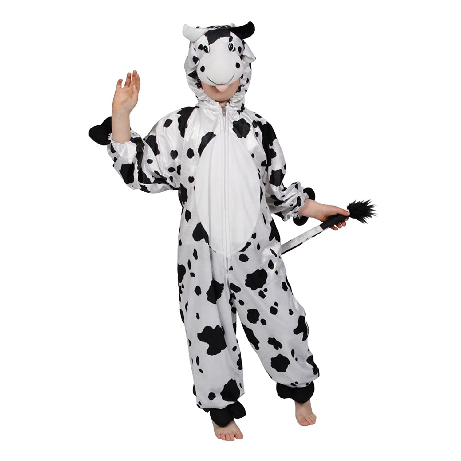 childrens fancy dress up halloween costume cow amazoncouk toys games - Halloween Costume Cow