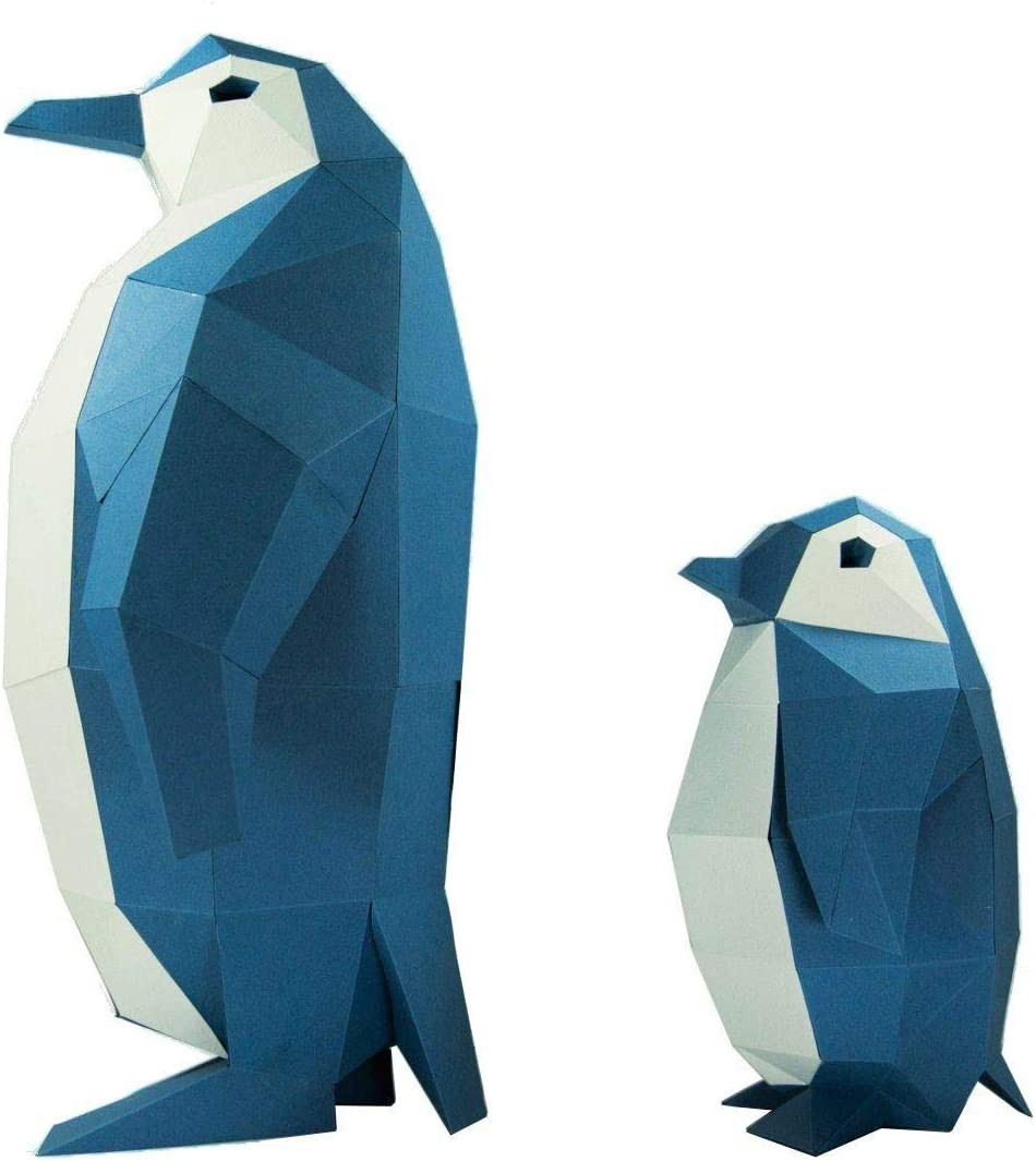 3D Papercraft Model-Penguins