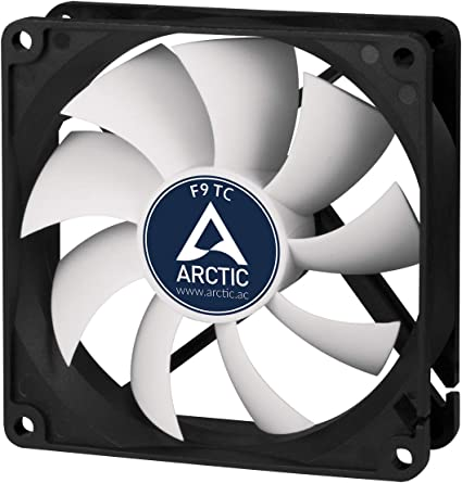 ARCTIC F9 TC – 92 mm Ventilador de Caja para CPU con Control de ...
