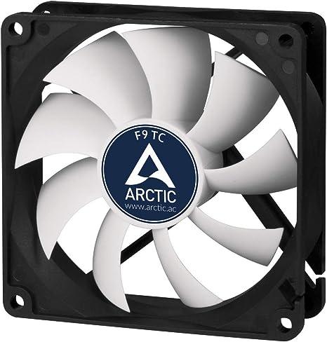 ARCTIC F9 TC – 99 mm Ventilador de Caja para CPU con Control de ...