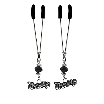 Black Beaded Tweezer Nipple Clamps Fantasy, Fetish & Accessories