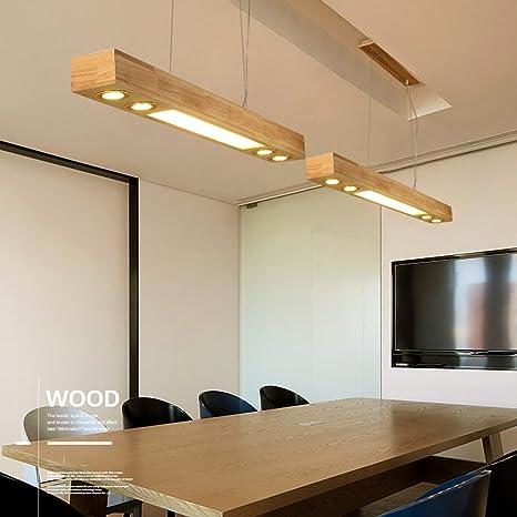 Lámpara colgante LED lámpara colgante de mesa de comedor lámpara ...