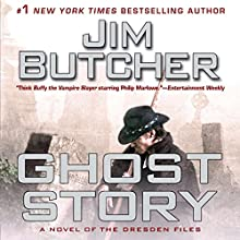 Ghost Story: A Novel of the Dresden Files Audiobook by Jim Butcher Narrated by James Marsters