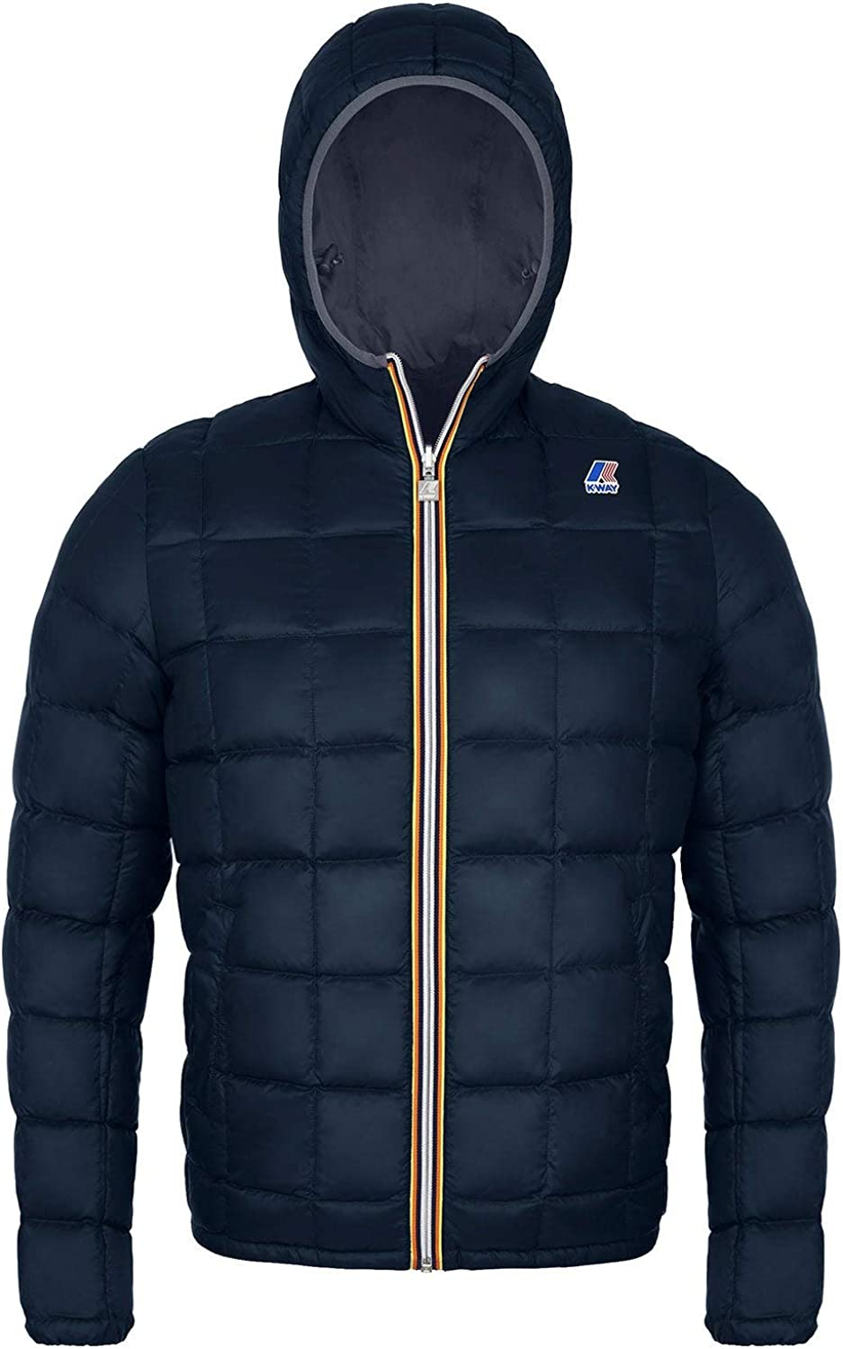 K-Way Giubbino Jaques Thermo Grey Anth-Blue D
