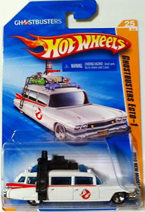Amazon.com: Ghostbusters Ecto-1 1959 Cadillac Hot Wheels Car (2010 HW Premiere): Toys & Games