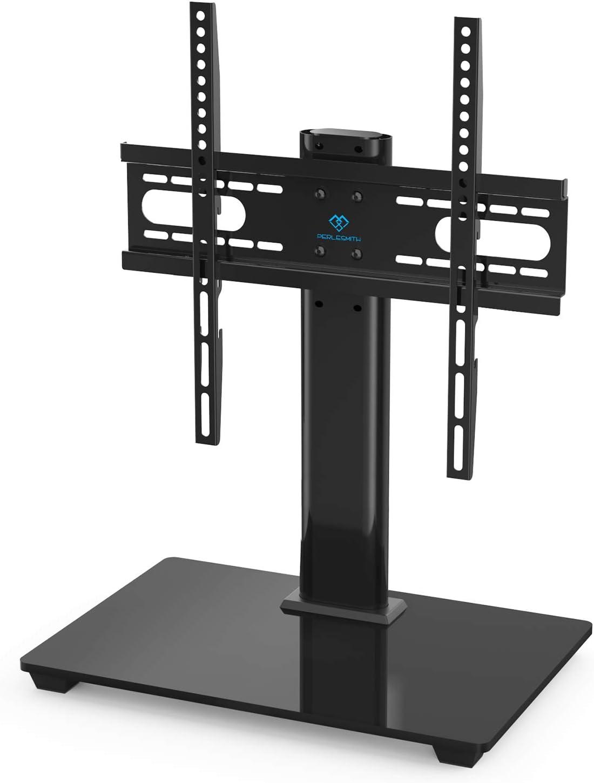 PERLESMITH テレビスタンド モニター台 移動式 3段目高さ調節可能