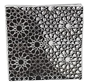 black printed luncheon napkin 18 pieces