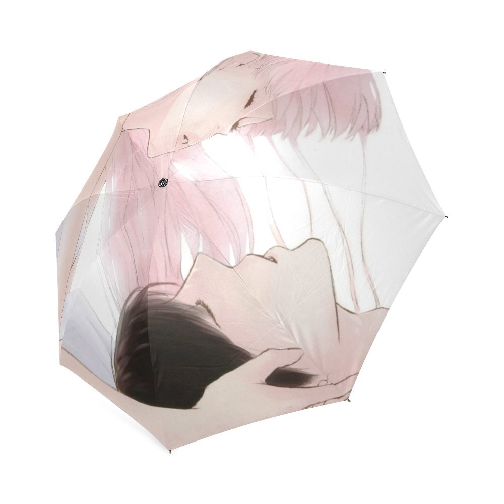 Personalized Couple In Love Foldable Umbrella Travel Umbrella free shipping