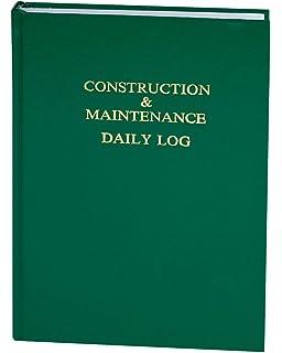 construction log book