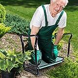 OutSunny Gardening Kneeler Seat Bench Kneel Folding Ergonomic Versatile Garden Tool