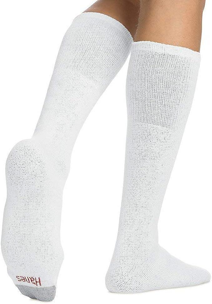 Hanes Mens Over-the-Calf Tube Socks 12-Pack