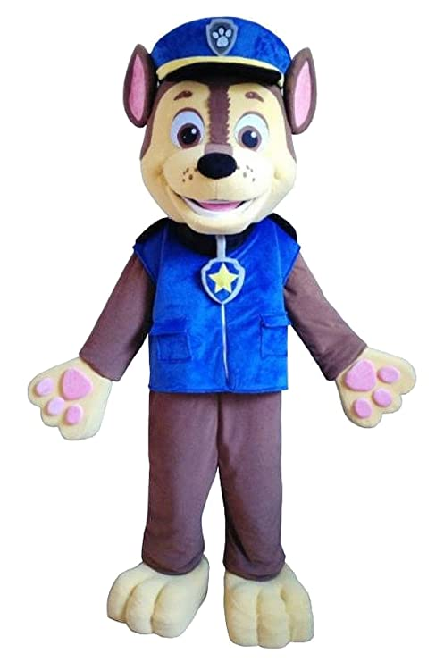 mascotte costume adulto  Karl, Paw Patrol Dog Mascotte Costume da Adulto, Without Fan: Amazon ...