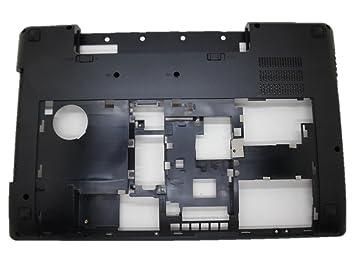 Carcasa inferior para ordenador portátil Lenovo Y580 sin sintonizador de TV Negro carcasa inferior ap0 N0000510 90200852: Amazon.es: Informática