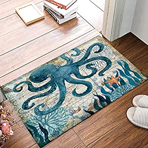 61mGjLowgzL._SS300_ Best Octopus Area Rugs