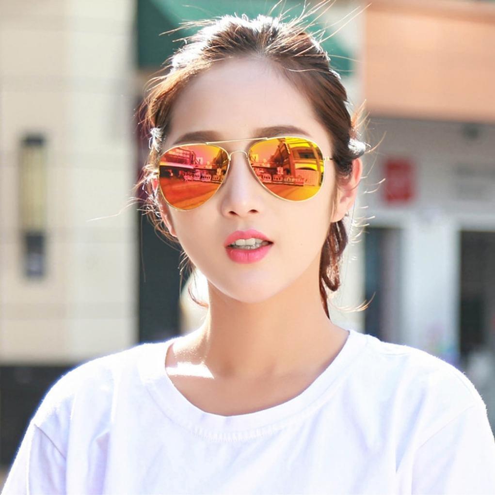 Kingfansion Classic Sunglasses Polarized Mens Womens UV 400 Protection