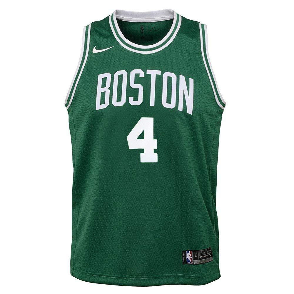 NIKE Isaiah Thomas Boston Celtics NBA Youth Green Team Color Swingman Icon Jersey (Size X-Large 18-20) by NIKE