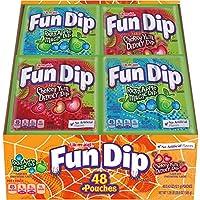 Wonka Fun Dip Razz Apple Magic Dip 48 Envelopes (Lik-m-aid)