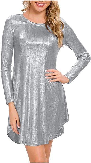 PAOLIAN_Vestido Para Mujer Vestido para Mujer Fiesta Cortos ...