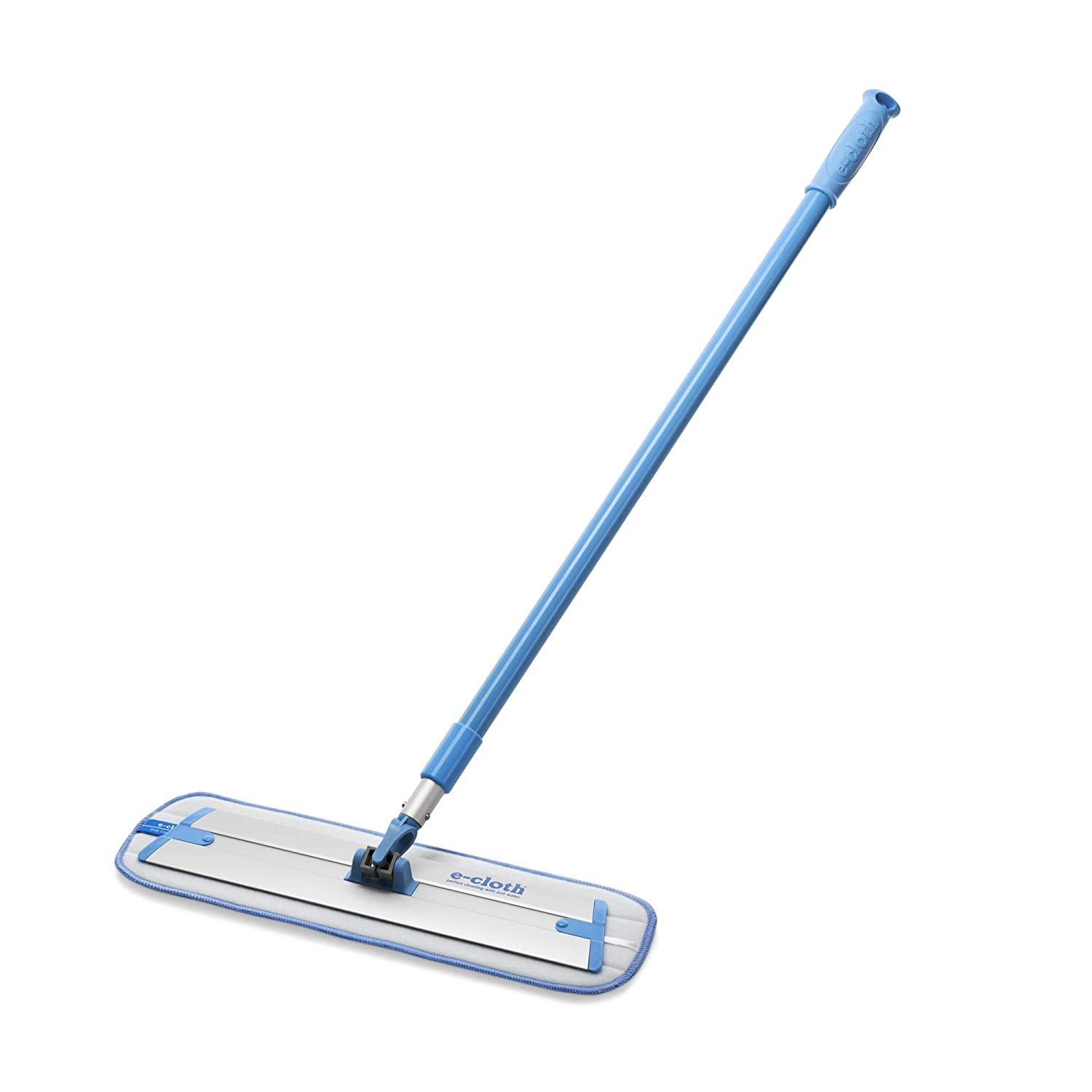 E-Cloth Deep Clean Mop - Original European Microfiber Damp Mop with Sturdy Telescoping Handle