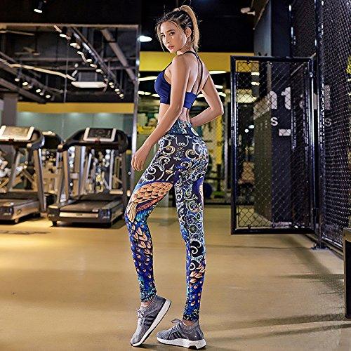 JIALELE Yogahose Sport Yoga Hose_Yoga Sport Hosen Stempel Fitness Hose