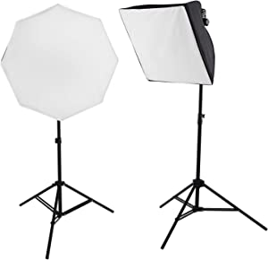 Westcott uLite LED 2-Light Collapsible Softbox Kit Professional Studio Continuous Lighting for Photography, Video Conferencing, and Video Production