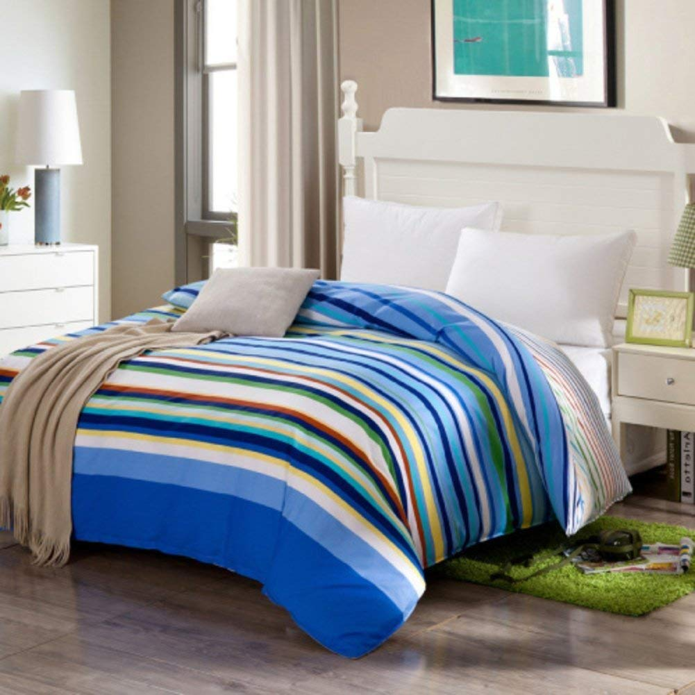 Mabmeiyang ベッドの裏地の綿のキルトカバーシングルピースカバー、シングルダブルベッドの項目 (Color : 200x230cm(79x91inch), サイズ : D) B07QPLJ68X 200x230cm(79x91inch) D