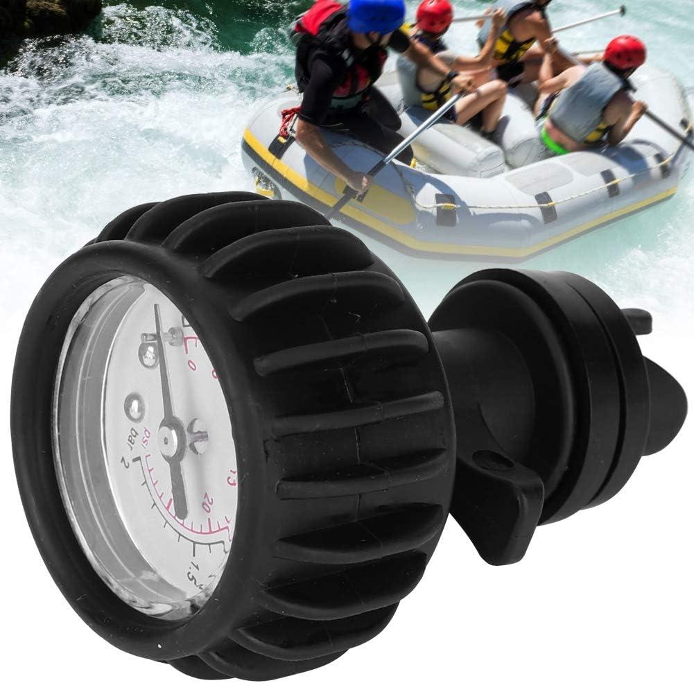 MAGT Manometro per Barca 30PSI Gommone per misurazione gommone Barometro Singolo Barca con Pompa a Mano Accessori per Kayak