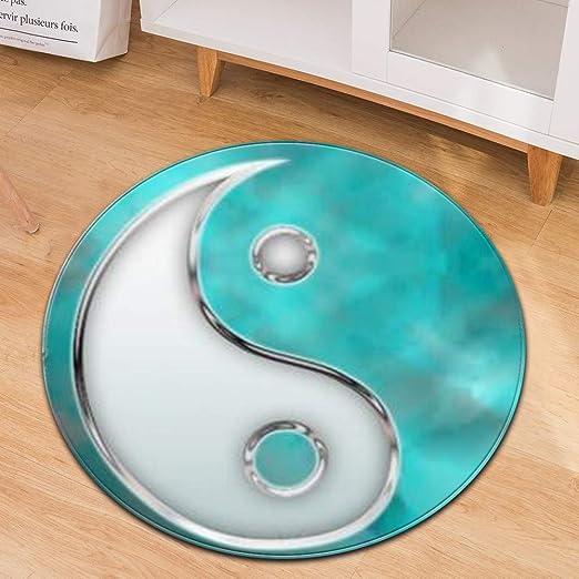 Dabobo Alfombra de diseño 3D área Rugs Moderna Salon Sala de ...