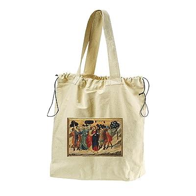 Betrayal By Judas (Nerio) Canvas Drawstring Beach Tote Bag