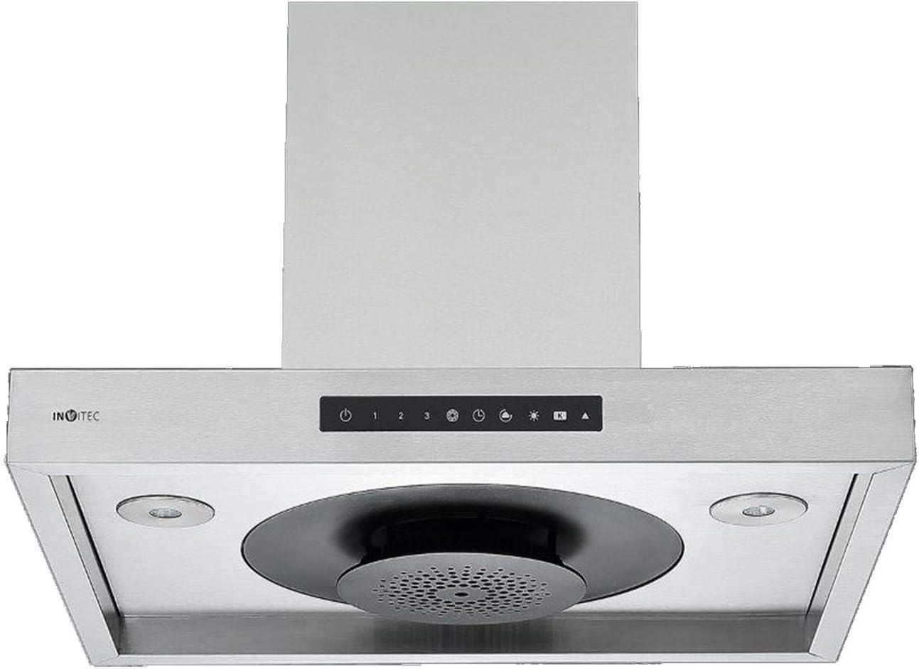 Invvitec Touch Eco-Jet - Campana extractora de acero inoxidable (60 cm): Amazon.es: Grandes electrodomésticos