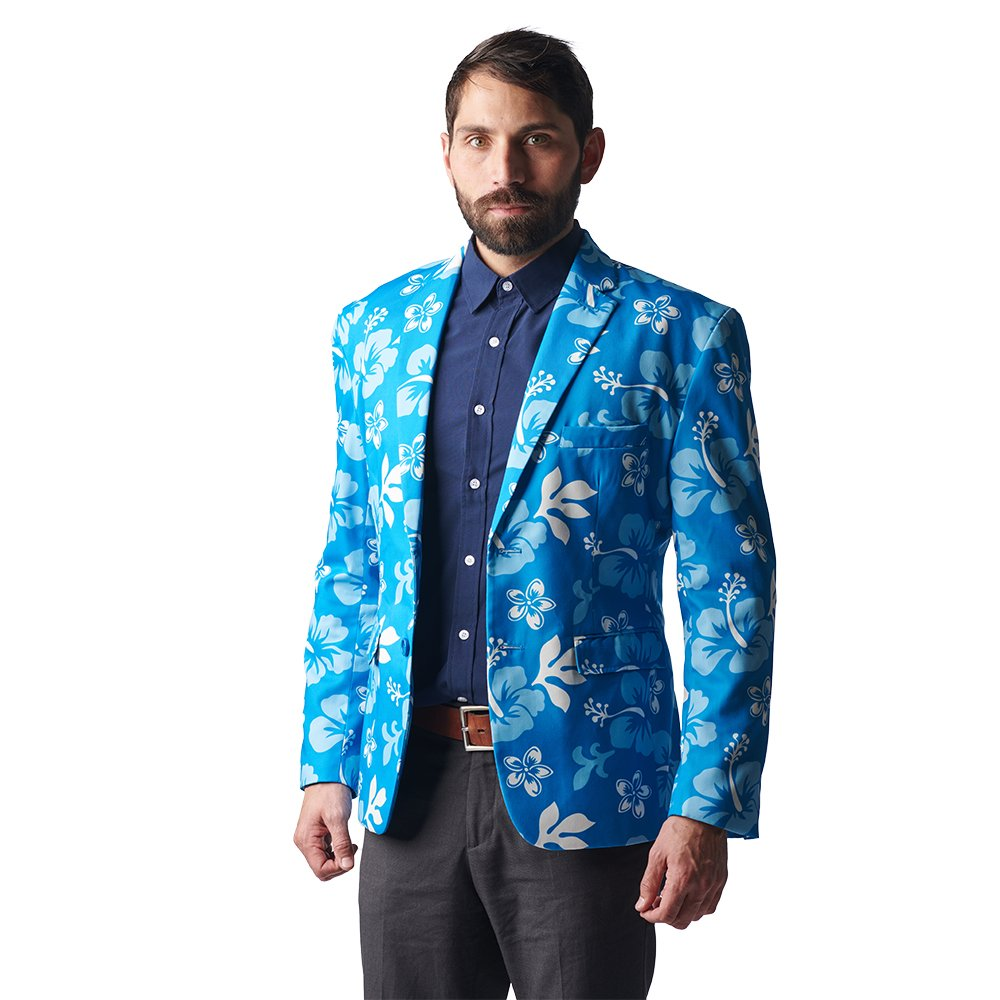 Stir Clothing Co. Big Kahuna Hawaiian Blazer - Floral Print Jacket