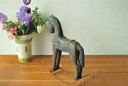 Decorazioni In Legno Per La Casa : Nfgdhn decorazioni per legno duro per il vecchio cavallo di troia