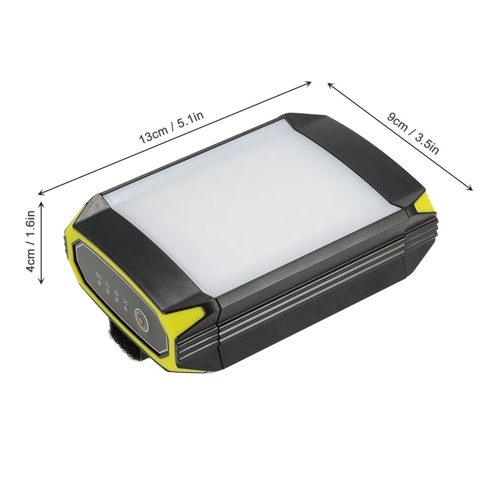 amazoncom lixada 500lm rechargeable portable 30 led lantern light