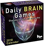 Daily Brain Games 2018 Day-to-Day Calendar