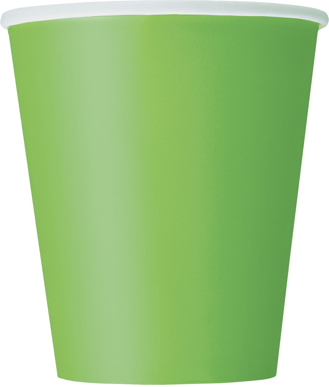 9oz Lime Green Paper Cups, 14ct