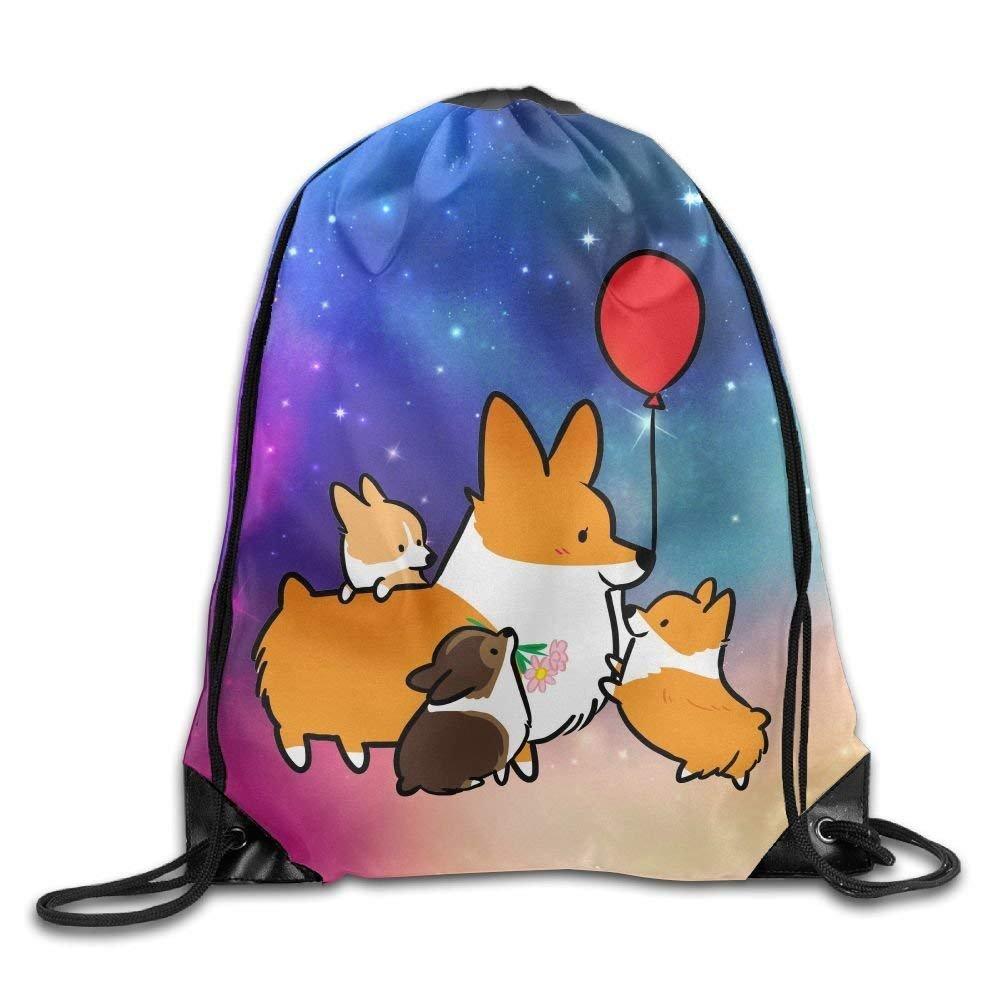 Drawstring Backpack Gym Bag Travel Backpack, Sky Spot Glare, Mini Backpacks for Boys Girls