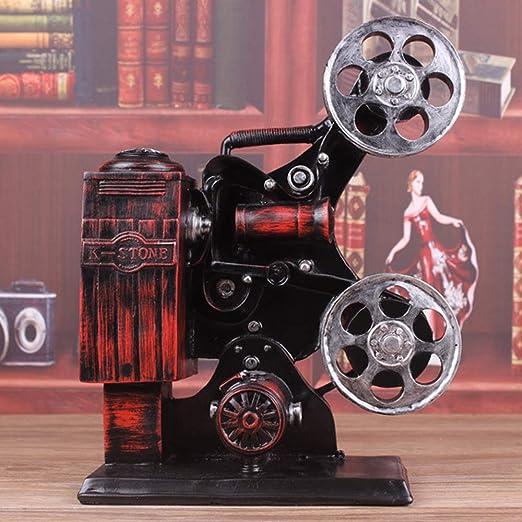 SCSY Ventana Retro proyector Modelo de Resina Crafts Studio Bar ...