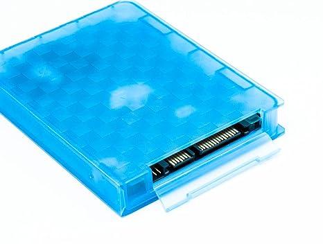 QUMOX Carcasa Protección Almacenamiento Disco Duro HDD 2.5 ...